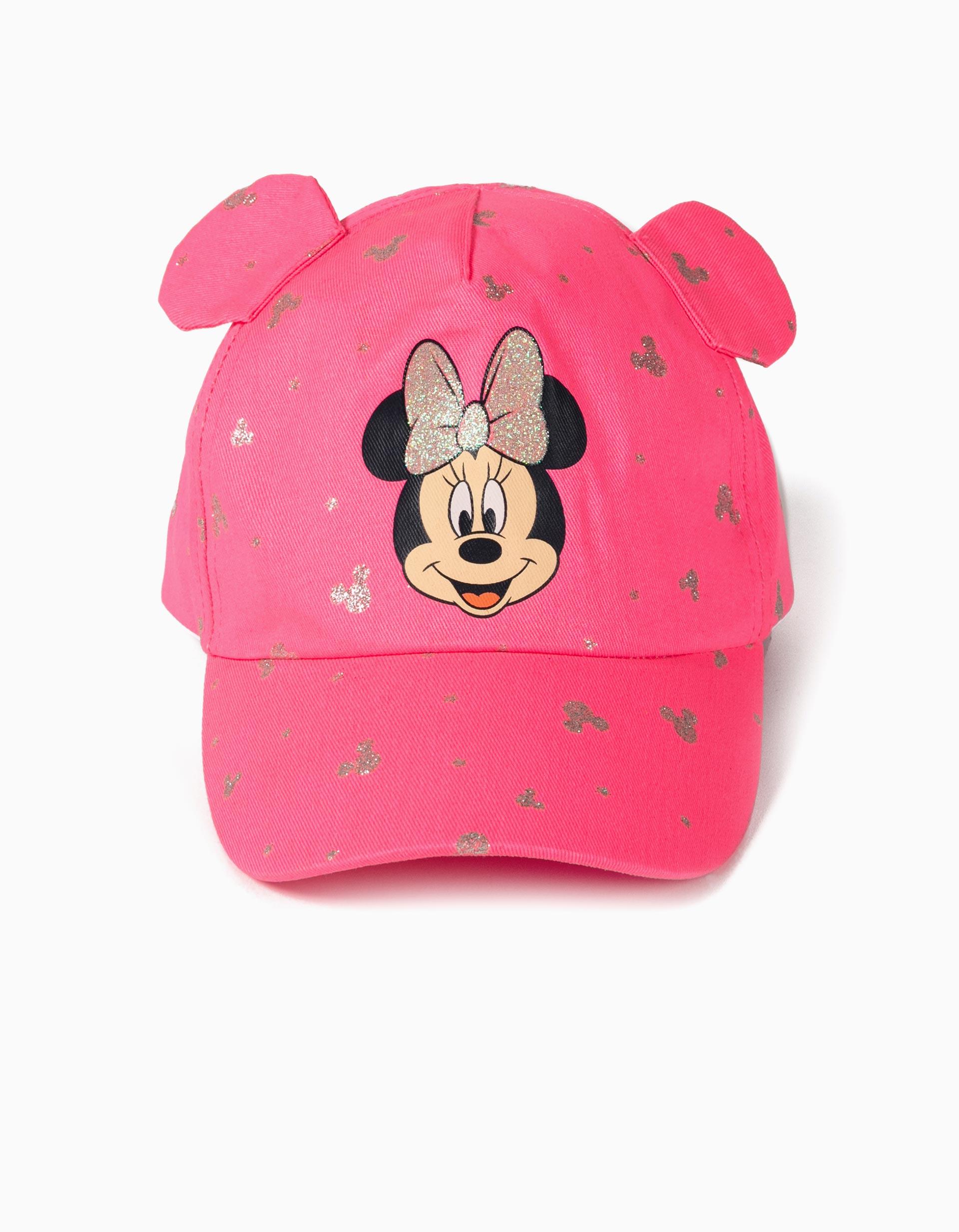 Boné para Menina 'Minnie Mouse', Rosa